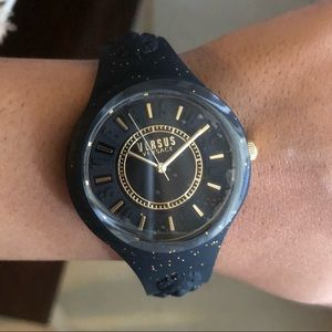 Versace versus watch black